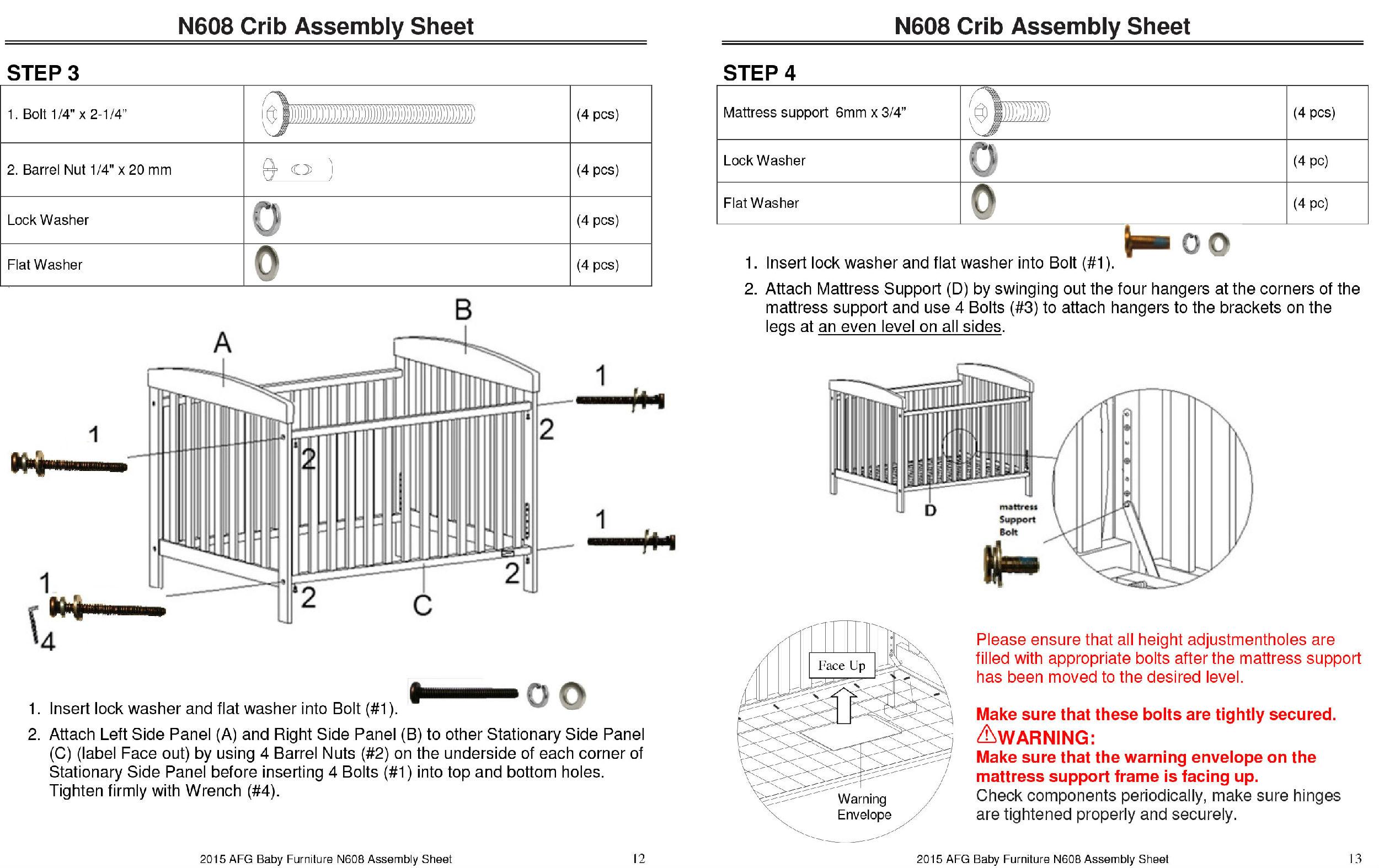 Safety AFG Baby Furniture